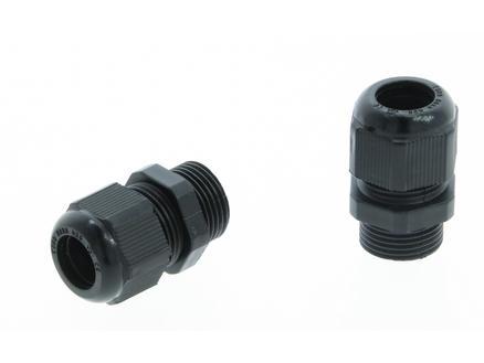 Profile Wartel M20 PVC zwart 2 stuks