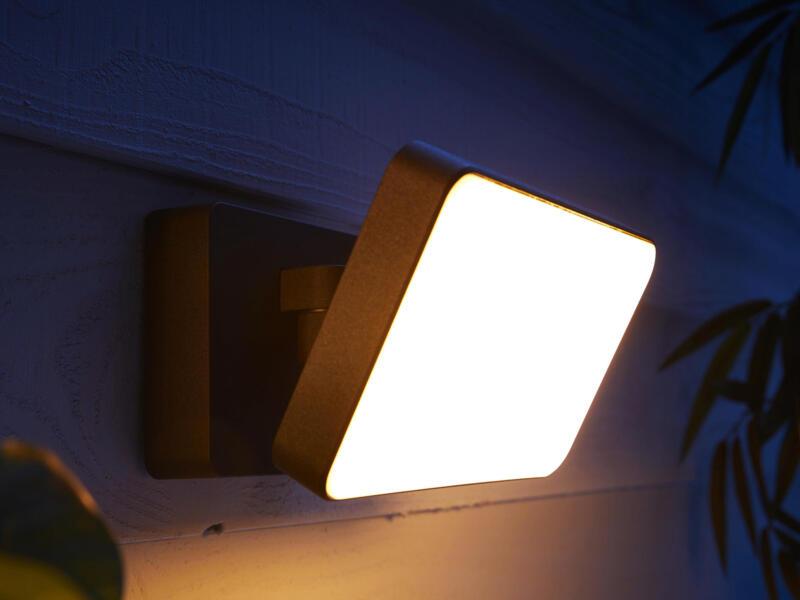 Hue Welcome LED straler 15W dimbaar zwart
