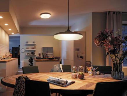 Philips Hue White Ambiance Cher LED hanglamp 39W + dimmer zwart