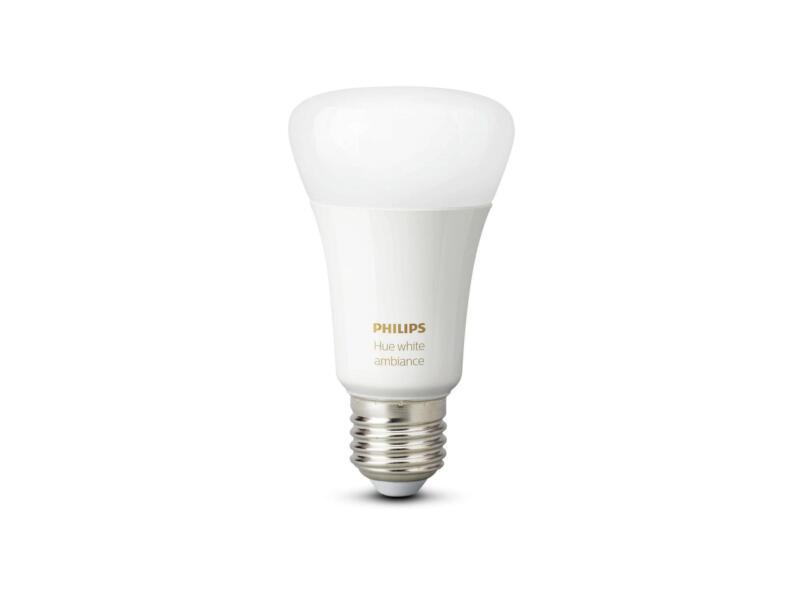 Hue White Ambiance ampoule LED poire E27 9,5W dimmable + interrupteur sans fil