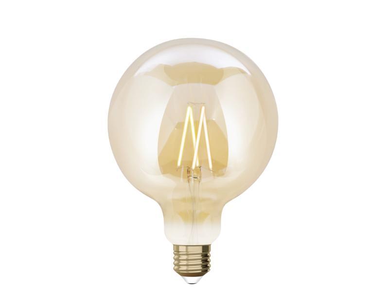 iDual White G125 LED bollamp filament E27 9W dimbaar amber