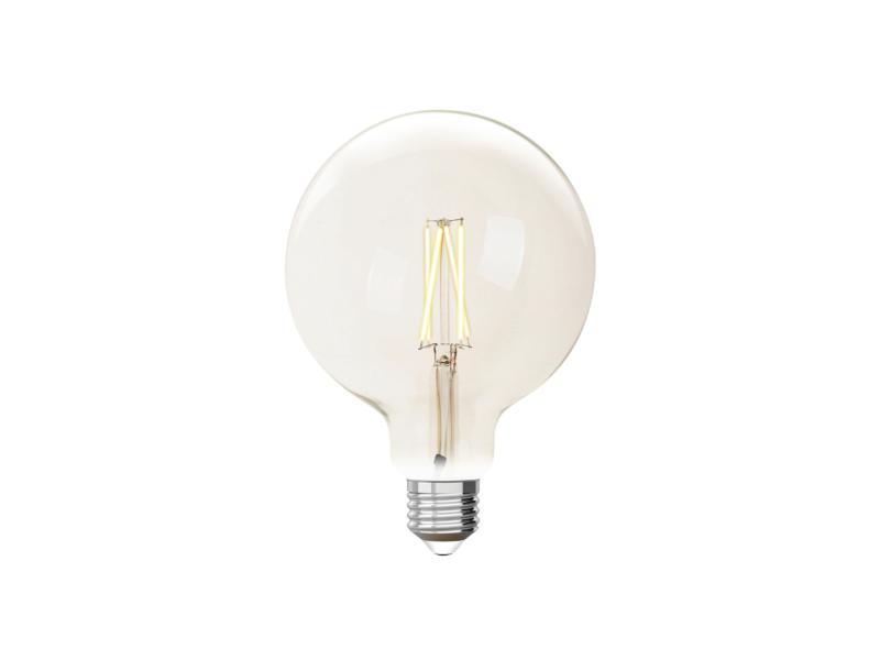 iDual White G125 LED bollamp filament E27 9W dimbaar helder