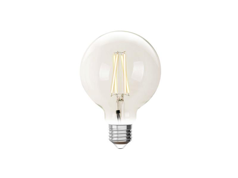 White G95 LED bollamp filament E27 9W dimbaar helder