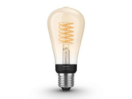 Hue White Vintage ampoule LED Edison poire filament E27 9W dimmable
