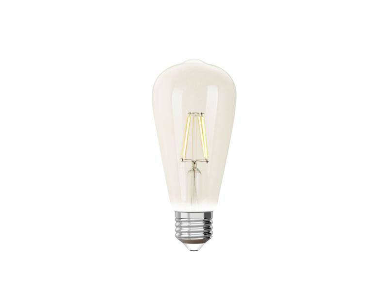 iDual White ampoule LED Edison filament E27 9W dimmable clair