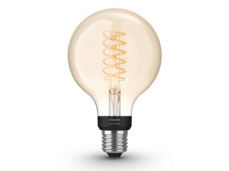 Hue White ampoule LED globe filament E27 9W dimmable