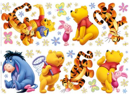 Disney Winnie de Poeh muurstickers