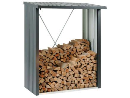 Biohort WoodStock 150 houtopslag 157x102x199 cm donkergrijs metallic
