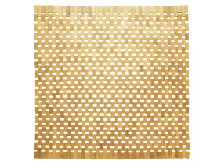 Sealskin Woodblock badmat 60x60 cm teak