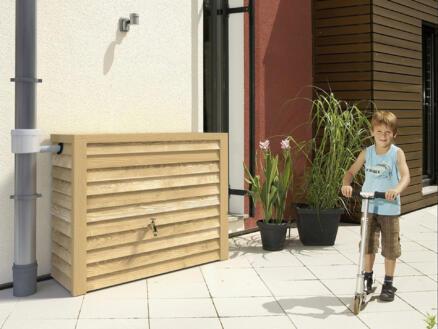 Garantia Woody tonneau de pluie 350l bois clair