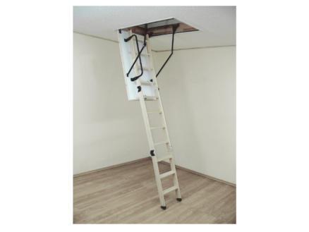Altrex Woodytrex Superieur escalier escamotable en 3 parties 110x60 cm bois