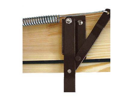 Altrex Woodytrex Superieur zoldertrap 3-delig 110x60 cm hout