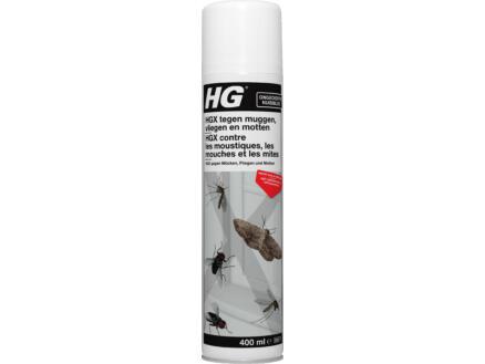 HG X spray anti-moustiques & anti-mouches & anti-mites 400ml