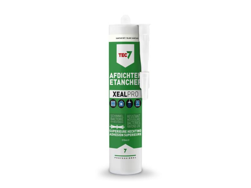 Tec7 XealPro afdichtingskit 310ml sanitair wit