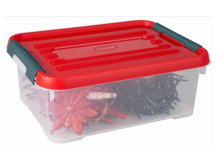 Curver Xmas Box Handy+ boîte de rangement 12l