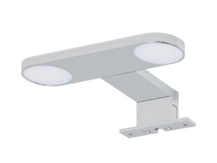 eTiger Yaro éclairage miroir LED 17cm aluminium