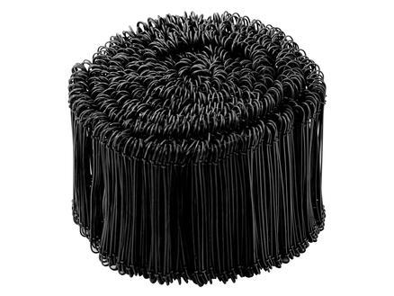 Giardino Zakkensluiter 120mm 1000 stuks zwart