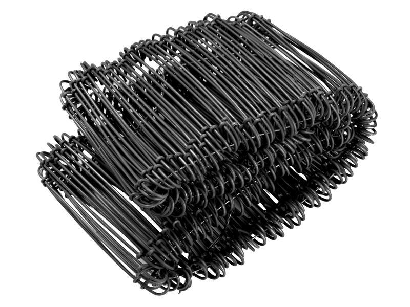 Giardino Zakkensluiter 80mm 200 stuks zwart
