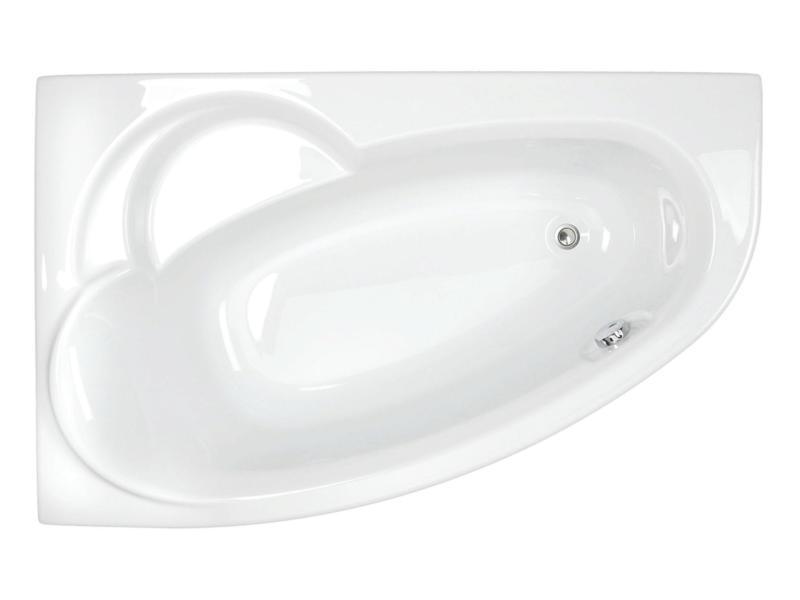 Allibert Zeli baignoire 175x110 cm asymétrique à droite