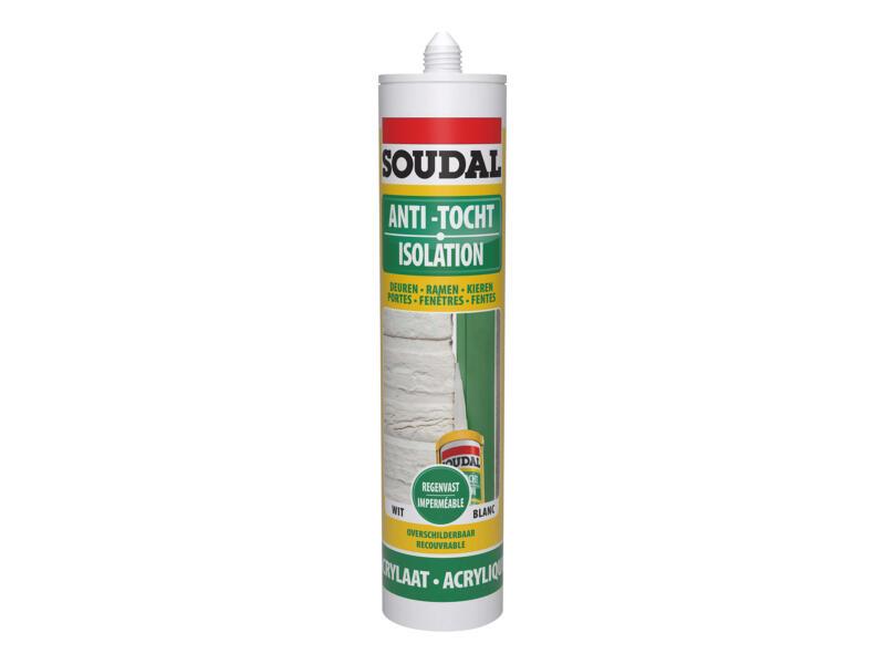Soudal acrylaatkit anti-tocht 300ml wit
