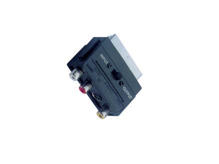 Profile adaptateur péritel 3RCA V + 1S-VHS