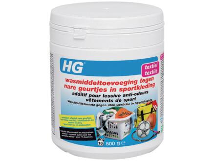 HG additif lessive anti-odeurs vêtements de sport 500g