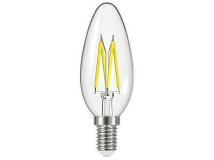 Prolight ampoule LED flamme filament E14 4,5W dimmable