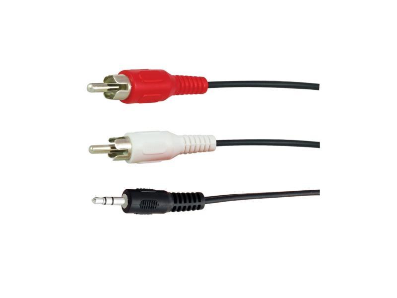 audio kabel mini jack>2RCA M 1,5m