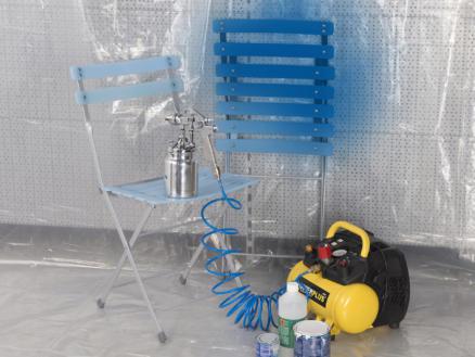 Kreator bâche de protection 0,01mm 4x5 m transparent