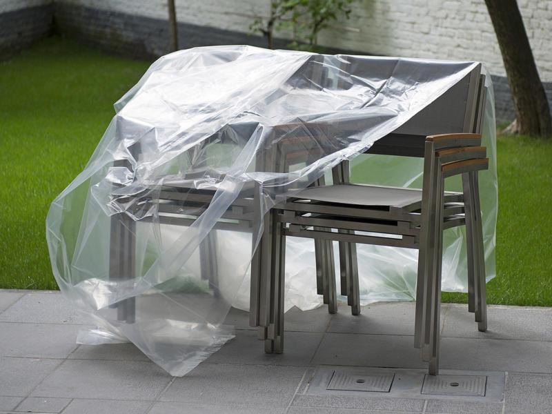 Kreator bâche de protection 6x10 m transparent