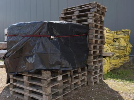 Kreator bâche de protection 6x6 m noir