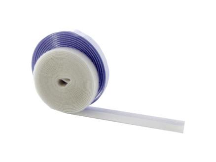CanDo bande autoagrippante pour moustiquaire 400cm x15mm blanc