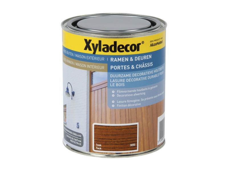 Xyladecor beits ramen & deuren 0,75l teak