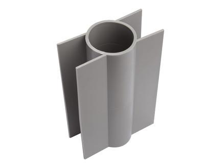 Giardino betonplaathouder ronde paal 18cm 48mm