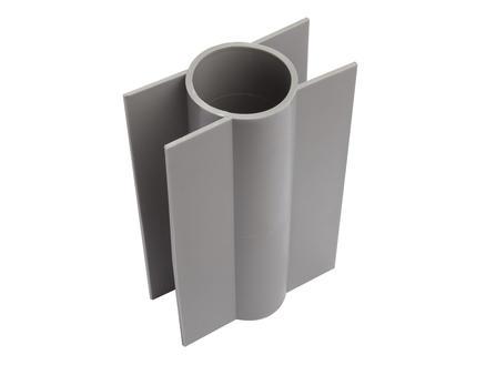 Giardino betonplaathouder ronde paal 18cm 60mm