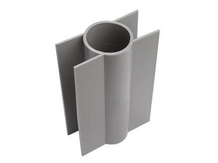 Giardino betonplaathouder ronde paal 28cm 60mm