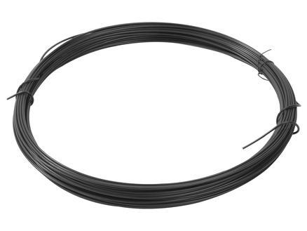 Giardino binddraad 100m 3,4mm geplastificeerd zwart
