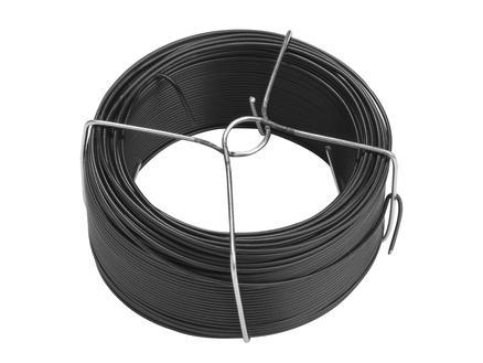 Giardino binddraad 50m 2mm geplastificeerd zwart