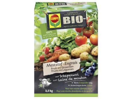 Compo bio engrais fruits & légumes 3,5 kg