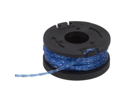 Powerplus Dual Power bobine de fil pour coupe-bordures 1,6mm 4,5m POWDPG7540 2 pièces