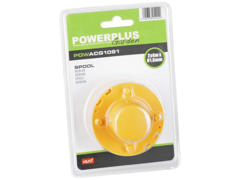 Powerplus bobine de fil pour coupe-bordures 1,6mm 4m POWXG3006/3007