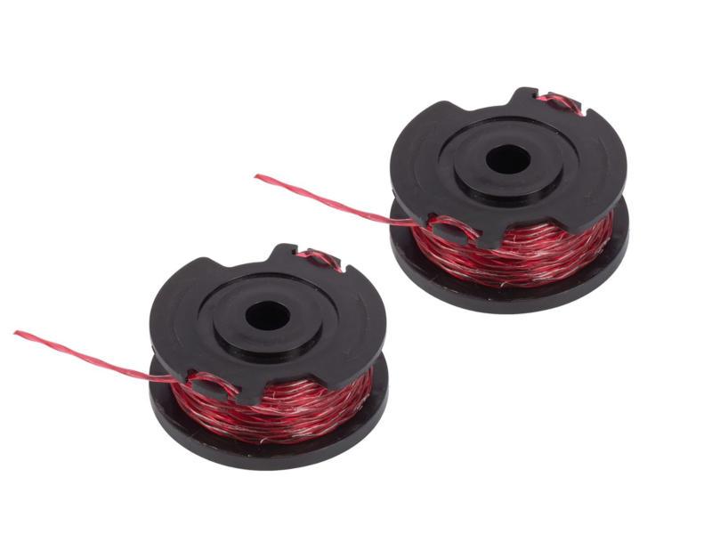 Powerplus Dual Power bobine de fil pour coupe-bordures 1,6mm 5m POWDPG7541 2 pièces