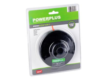 Powerplus bobine double fil pour coupe-bordures 2,4mm 2,8m