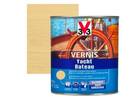 V33 boottvernis hoogglans 0,75l kleurloos