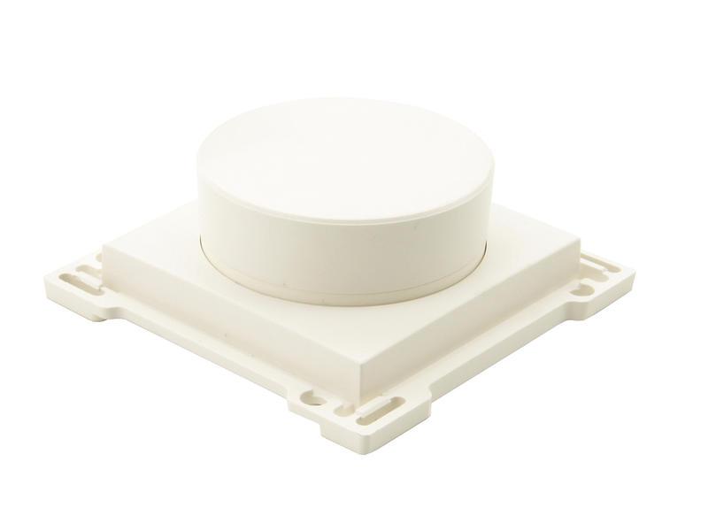 Niko bouton pour variateur à bouton rotatif blanc