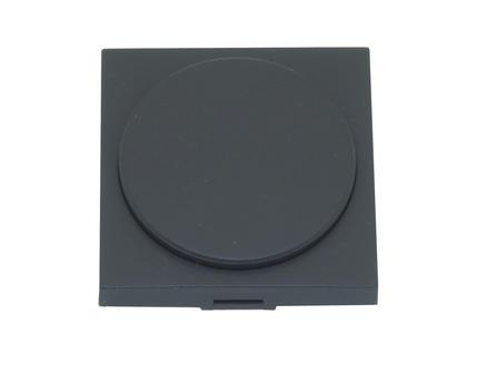 Niko bouton pour variateur rotatif universel ou extension anthracite