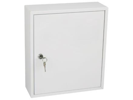 Practo Garden brievenbus deurmodel wit