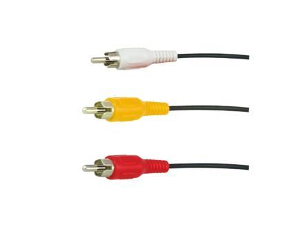 câble audio 2RCA M>2RCA F 5m