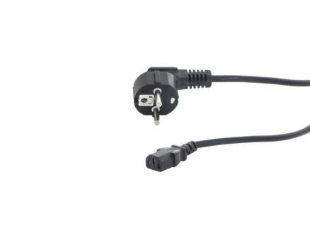 câble d'alimentation 2m noir