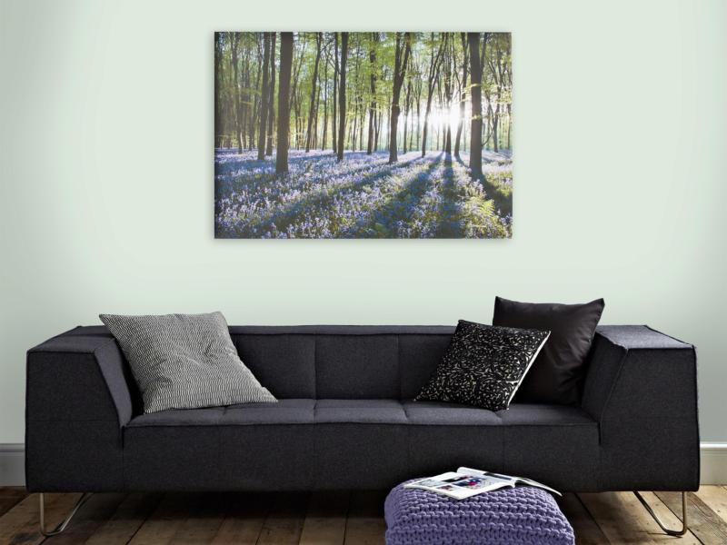 Art for the Home canvasdoek 100x70 cm boshyacinten
